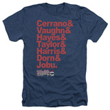 Major League - Team Roster Shirts