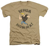 Johnny Bravo - Whoa Momma T-shirts