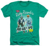 I Love Lucy - Pro Golf Tips T-Shirt