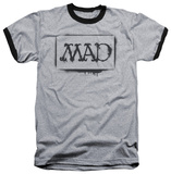 Mad Magazine - Stencil Ringer Shirt
