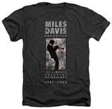 Miles Davis - Miles Silhouette Camiseta