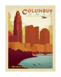 Columbus, OH Posters by  Anderson Design Group