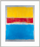 Untitled (Yellow, Red and Blue) Prints by Mark Rothko