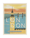 London, the Square Mile Posters by  Anderson Design Group