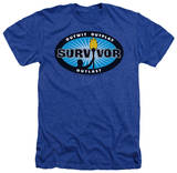 Survivor - Blue Burst Shirts
