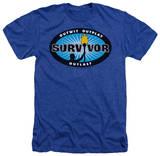 Survivor - Blue Burst T-Shirt