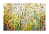 Welcome to My Garden Giclee Print by Jennifer Lommers