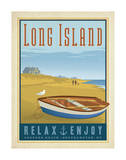Long Island Rowboat Poster by  Anderson Design Group