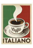 Cafe Italiano Póster por Anderson Design Group