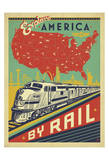 Explore America By Rail Posters by  Anderson Design Group