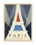Paris, the City of Light Art by  Anderson Design Group