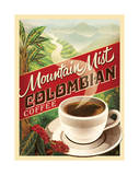 Colombian Coffee Prints by  Anderson Design Group