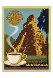 Jaguar Coffee Guatemala Posters af Anderson Design Group