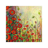 Memories of Grandmother's Garden Giclee Print by Jennifer Lommers