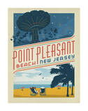 Point Pleasant, NJ Posters by  Anderson Design Group