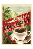 Colombian Coffee Poster by  Anderson Design Group