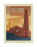 Cleveland Posters by  Anderson Design Group