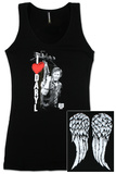 Juniors Tank Top: The Walking Dead - I Heart Daryl T-Shirt