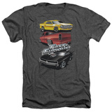 The Fast And The Furious - Muscle Car Splatter T-shirts