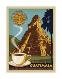 Jaguar Coffee Guatemala Plakater af Anderson Design Group