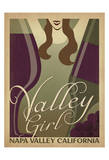 Valley Girl Prints by  Anderson Design Group