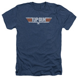 Top Gun - Distressed Logo T-shirts