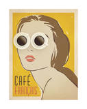 Cafe Francais Print by  Anderson Design Group