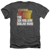 The Six Million Dollar Man - Run Fast Shirts