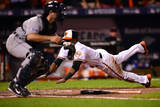 Division Series - Detroit Tigers v Baltimore Orioles - Game One Photographic Print by Patrick Smith