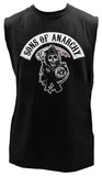 Sons of Anarchy - Rocker Reaper Sleeveless Tee T-shirts
