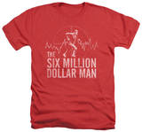 The Six Million Dollar Man - Target T-Shirt