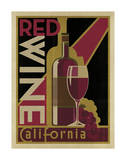 Red Wine Poster Prints by  Anderson Design Group