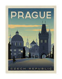 Prague, Czech Republic Prints by  Anderson Design Group