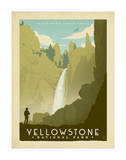 Yellowstone Plakater af Anderson Design Group
