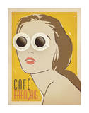 Cafe Francais Posters by  Anderson Design Group
