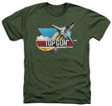 Top Gun - Distressed Logo T-shirts