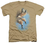 Wildlife - Morning Reflections Canada Geese T-shirts