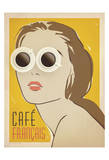Cafe Francais Poster by  Anderson Design Group