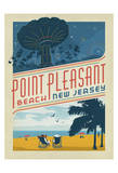 Point Pleasant, NJ Prints by  Anderson Design Group