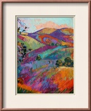 Paso III Framed Giclee Print by Erin Hanson