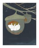 Acorn, Sweet Acorn Giclée-tryk af Kristiana Pärn