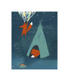 Mr. Fox's Brilliant New Ideas Giclee Print by Kristiana Pärn