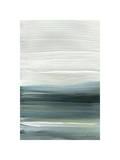 Silver Silence: Opal Sky Giclee Print by Joan Davis
