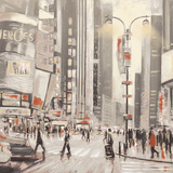 Times Square I Giclee Print by Phil Wilson