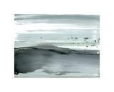 Silver Silence: Dappled Shore Giclee Print by Joan Davis