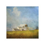 White Farm Giclee Print by Dawne Polis