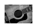 Classic Guitar Detail IX Giclee Print by Richard James
