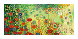 Garden Poetry Giclee Print by Jennifer Lommers