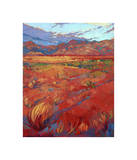 Desert Rainbow (center) Giclee Print by Erin Hanson
