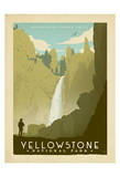 Yellowstone Poster di  Anderson Design Group